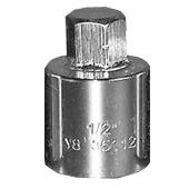 V8 Tools 1/2 Dr Hex Socket